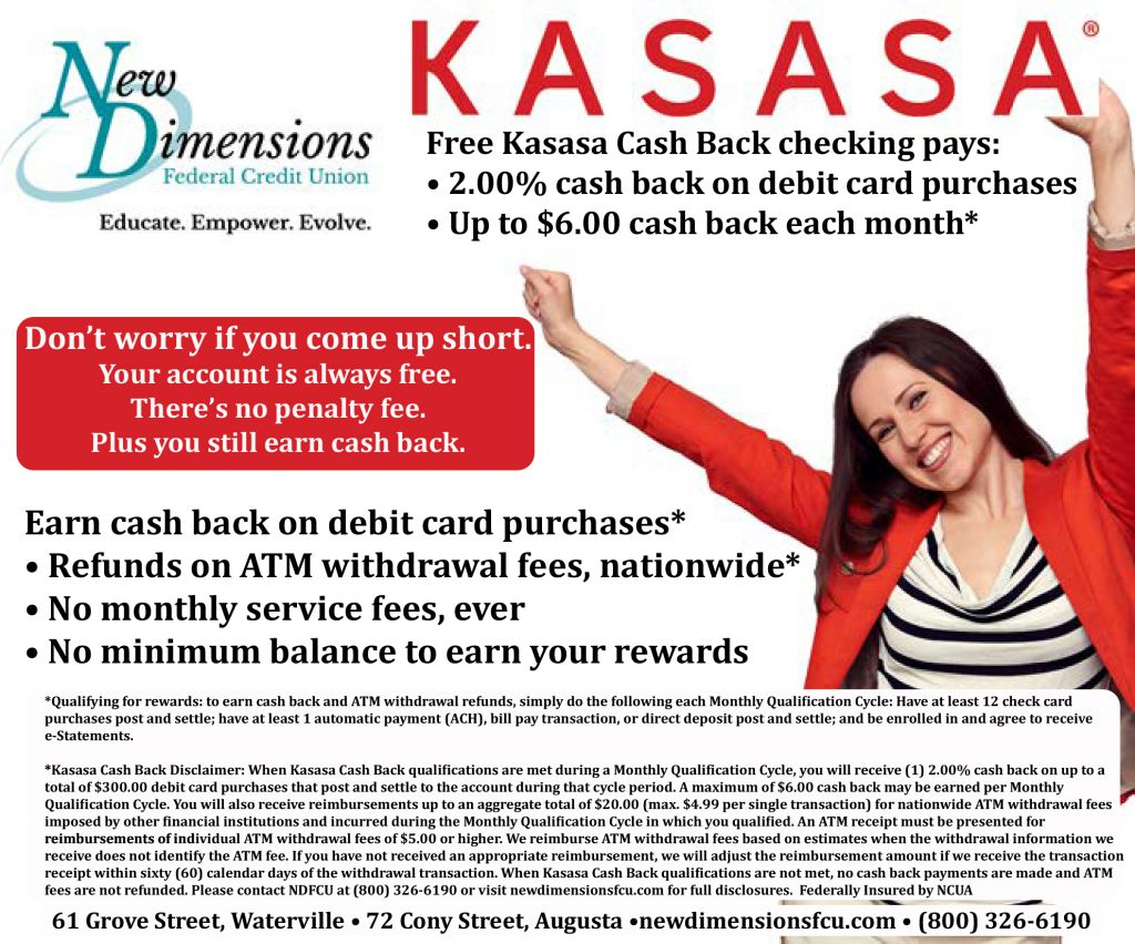 Image Ad: Kasasa Cash Back Checking