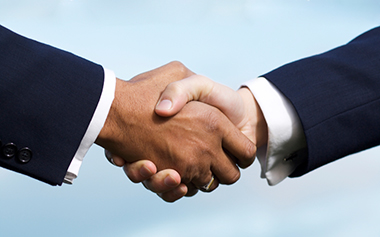 Men Shaking Hands Photo