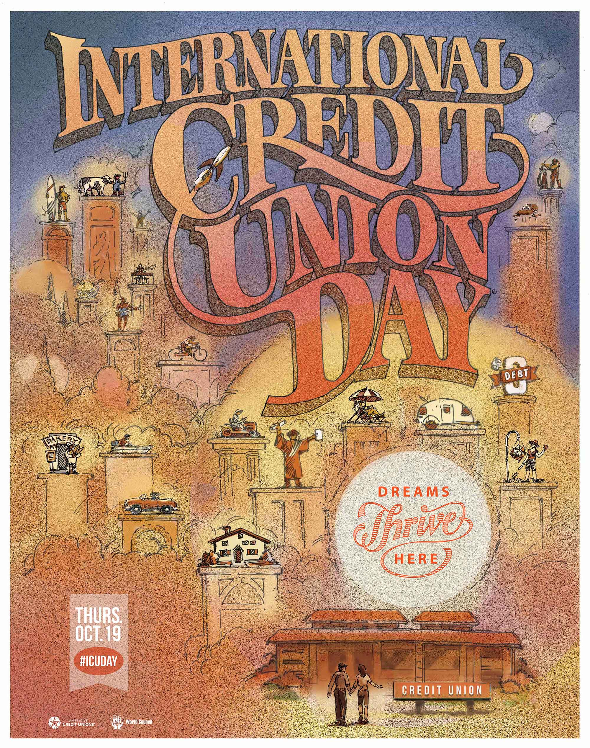 International Credit Union Day Poster