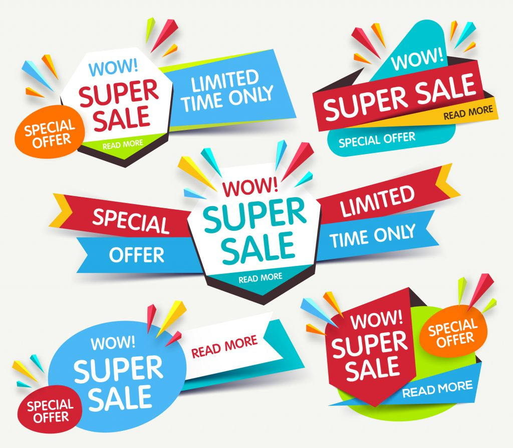Look for these signs when shopping to find the best deals.