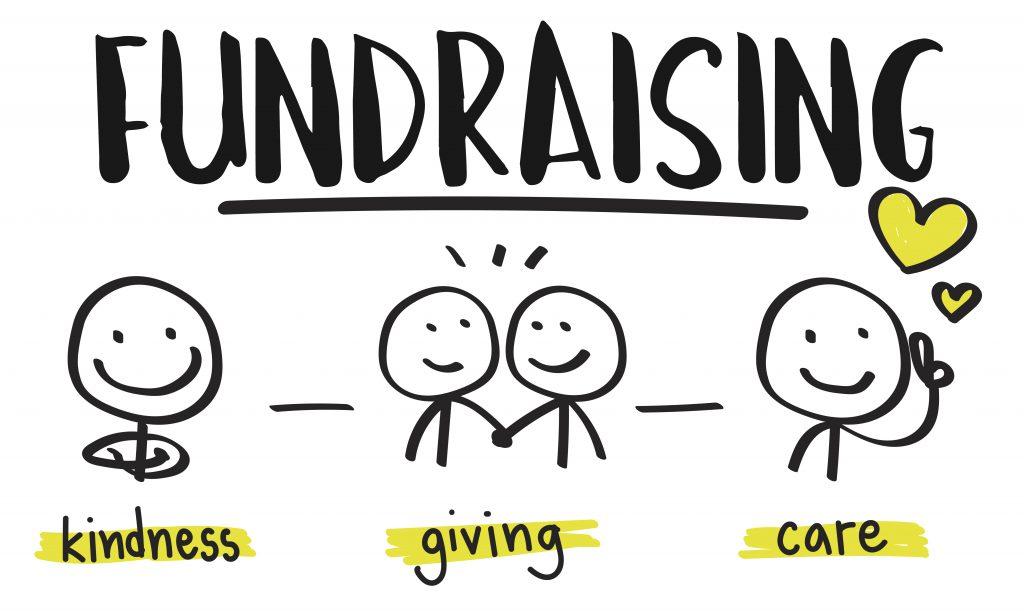 fundraising stick figures