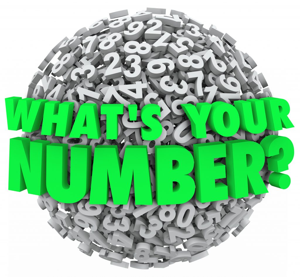 world photo made up of numbers and says What's your number?