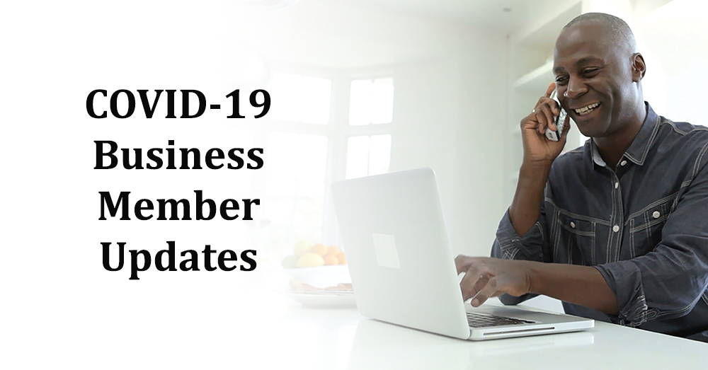 COVID-19 Updates For Business Members