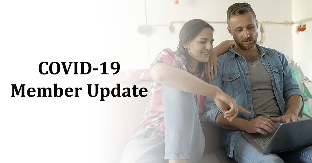 COVID-19 Updates For Members