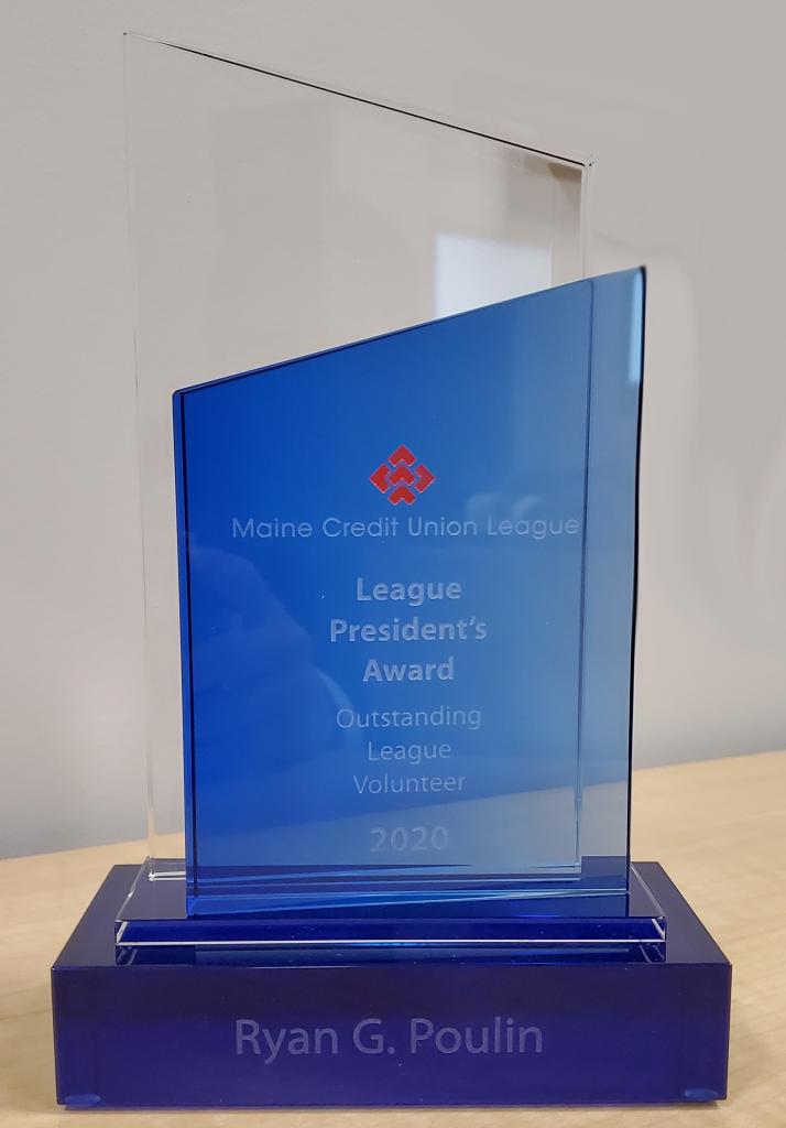 CEO award for Outstanding volunteer