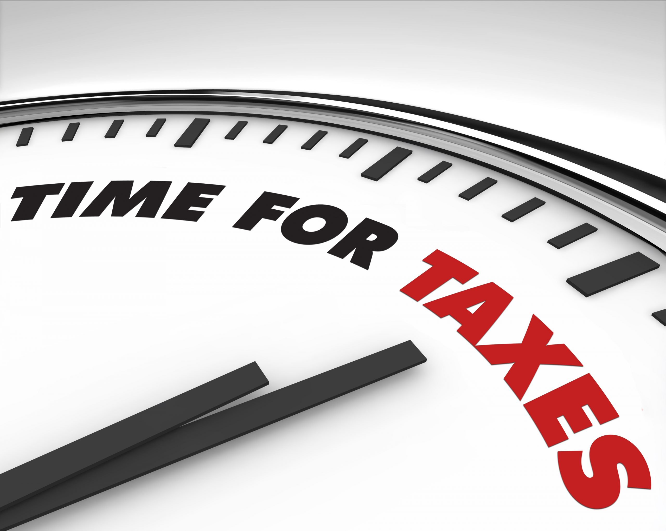Its Time For Taxes