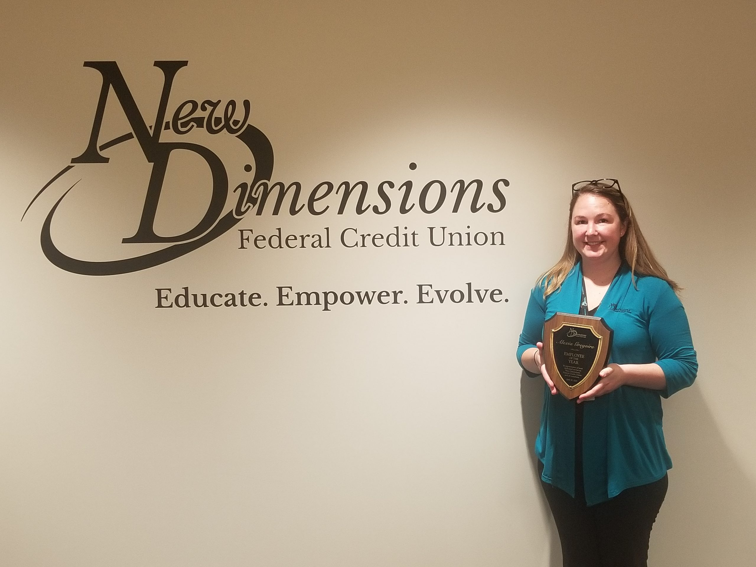 New Dimensions Chooses Its 2020 Employee Of The Year!
